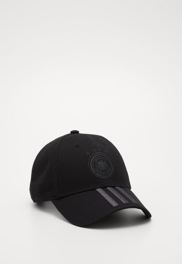 DFB DEUTSCHLAND CAP H/A - Czapka z daszkiem - black/carbon/carbon