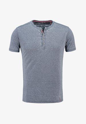 MT DIETER - Print T-shirt - dark blue
