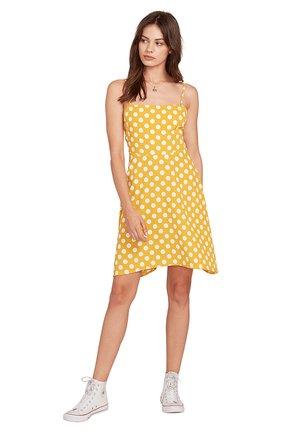 READ THE ROOM - Korte jurk - yellow