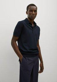 Mango - Polo shirt - bleu marine - 0