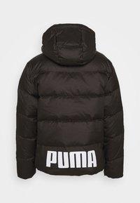 Puma - JACKET - Down jacket - black - 1