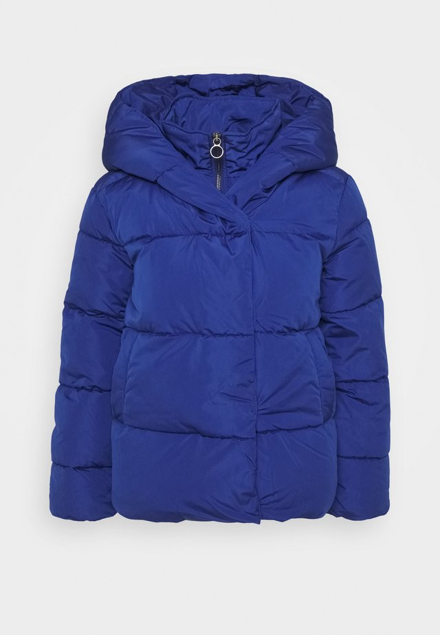 ONLSARA SHORT PUFFER JACKET - Kurtka zimowa - sodalite blue