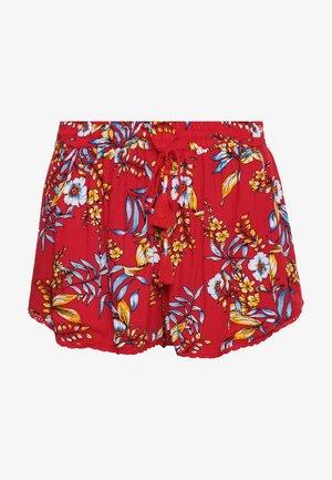 Swimming shorts - red hawaiian