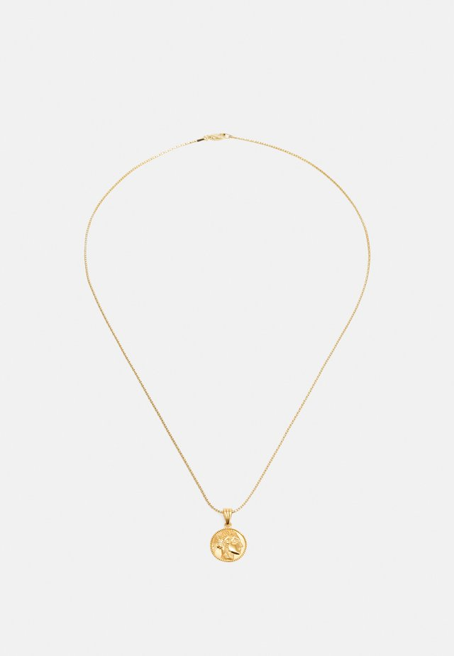 ATHÉNA SNAKE CHAIN PENDANT - Ketting - gold-coloured