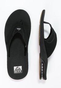 Reef - T-bar sandals - black/silver - 1