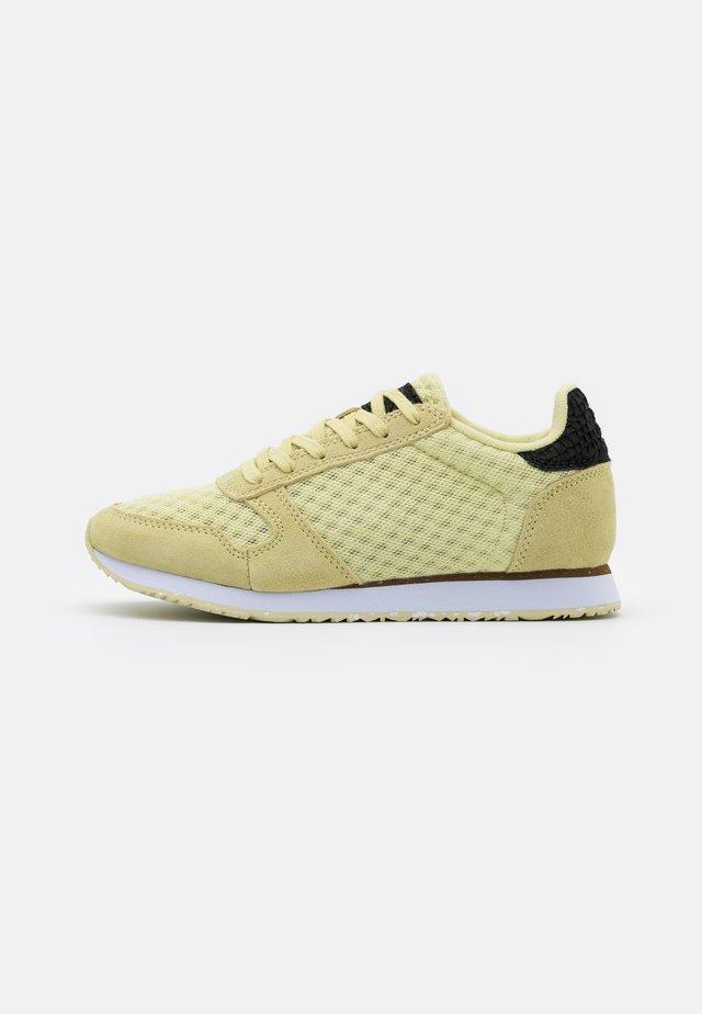 YDUN SUEDE MESH II - Sneakersy niskie - lemongrass