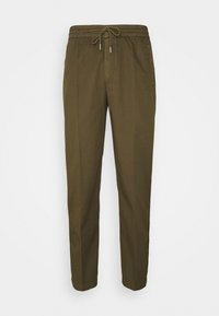 DRAWCORD TROUSERS - Trousers - khaki