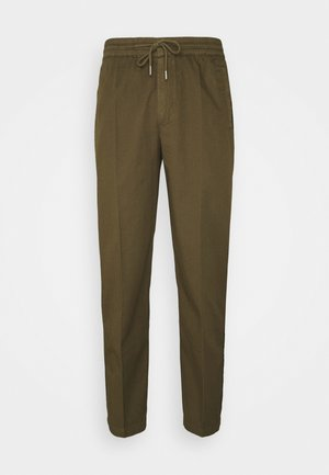 DRAWCORD TROUSERS - Trousers - khaki