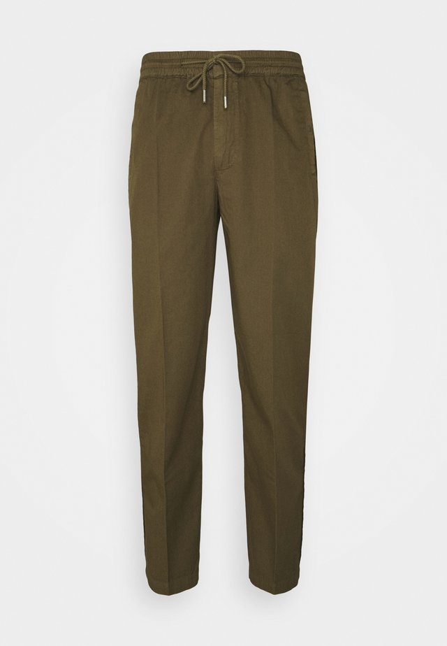 DRAWCORD TROUSERS - Bukser - khaki