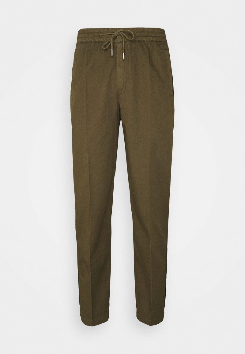 Folk - DRAWCORD TROUSERS - Pantalon classique - khaki