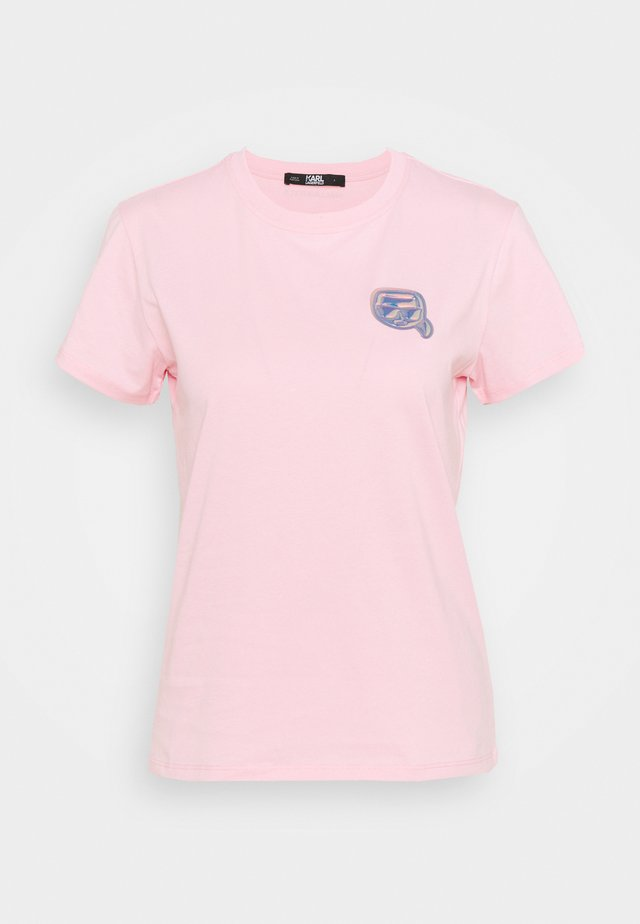 MINI IKONIK BALLOON TEE - Triko spotiskem - pink