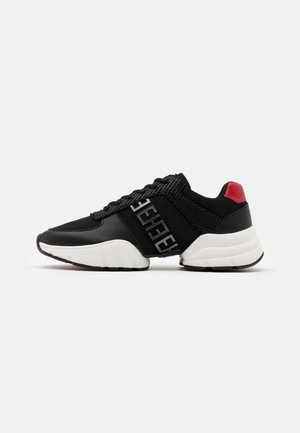 SPLIT RUNNER MONO - Sneakers basse - black/gunmetal