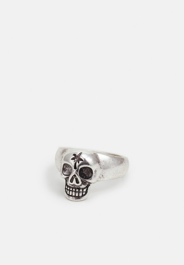 NOWHERE BOUND SKULL - Ring - silver-coloured
