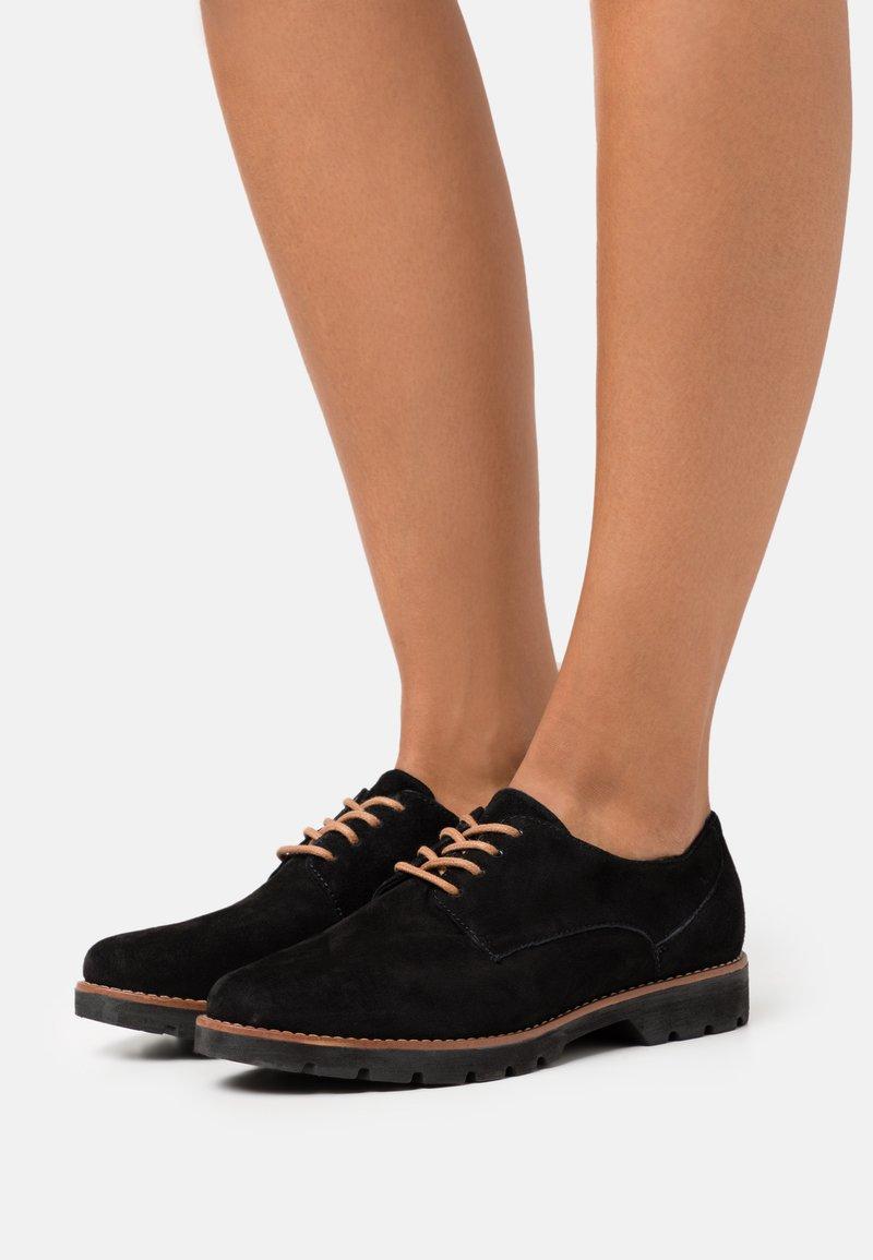 Jana - Lace-ups - black