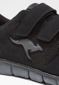 KangaROOS - K-BLUERUN 701    - Sports shoes - black/dark grey - 5