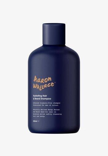 HYDRATING HAIR & BEARD SHAMPOO - Beard shampoo - aw blue