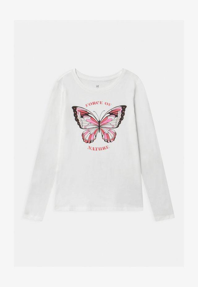 GIRL - Long sleeved top - new off white