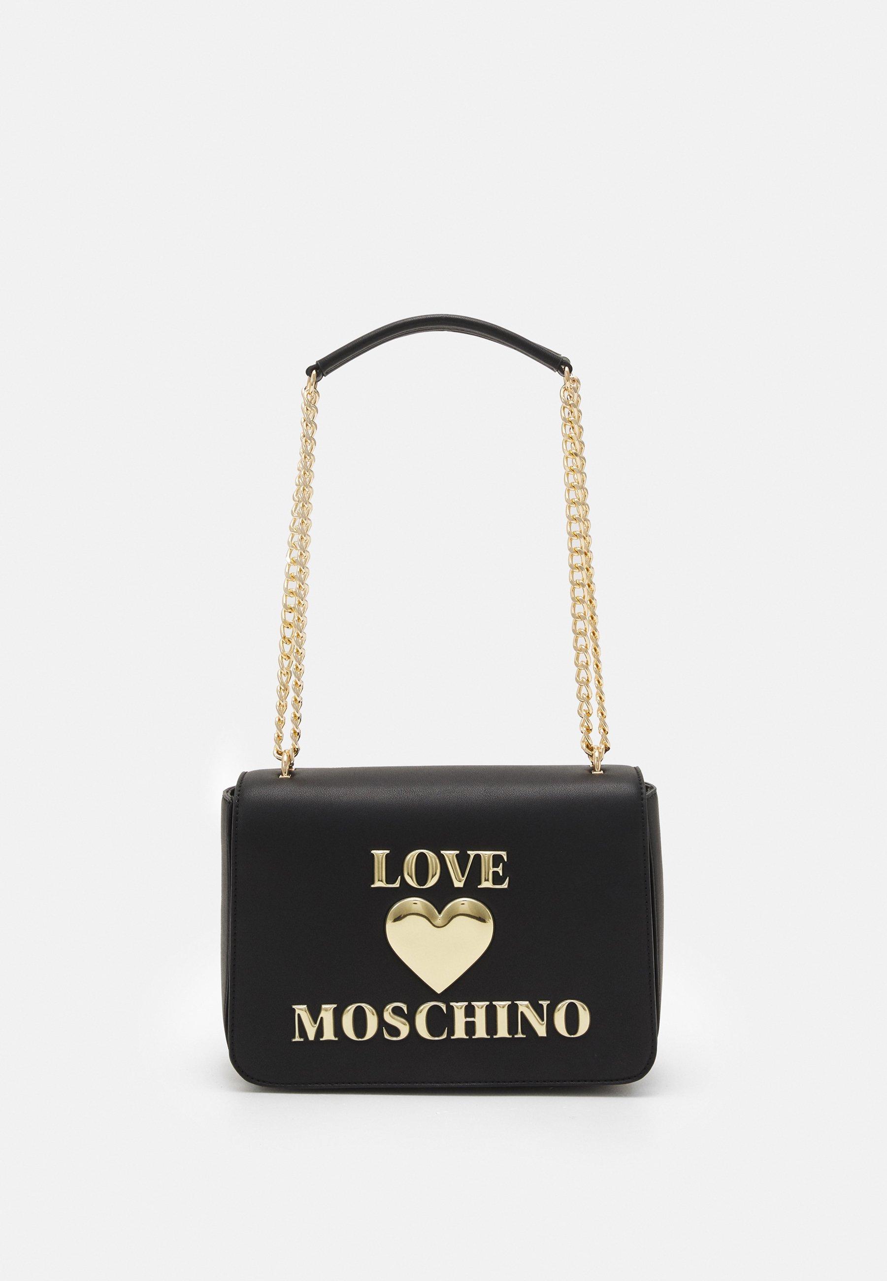 Women HEART LOGO CHAIN SHOULDER BAG - Handbag