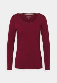Esprit - CORE - Maglietta a manica lunga - bordeaux/red - 0