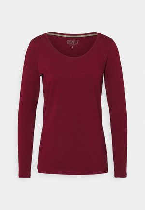 CORE - Long sleeved top - bordeaux/red