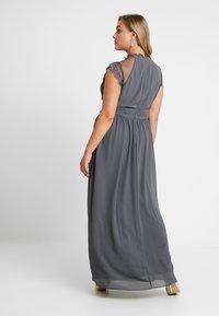 TFNC Curve - VALETTA MAXI - Společenské šaty - vintage grey - 3