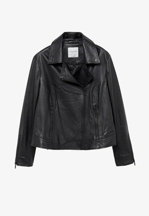 ONETIOR8 - Leather jacket - schwarz