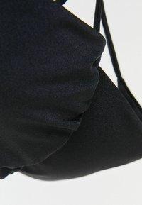 Bershka - Bikini top - black - 5