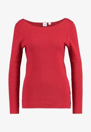 BOATNECK - Jumper - modern red