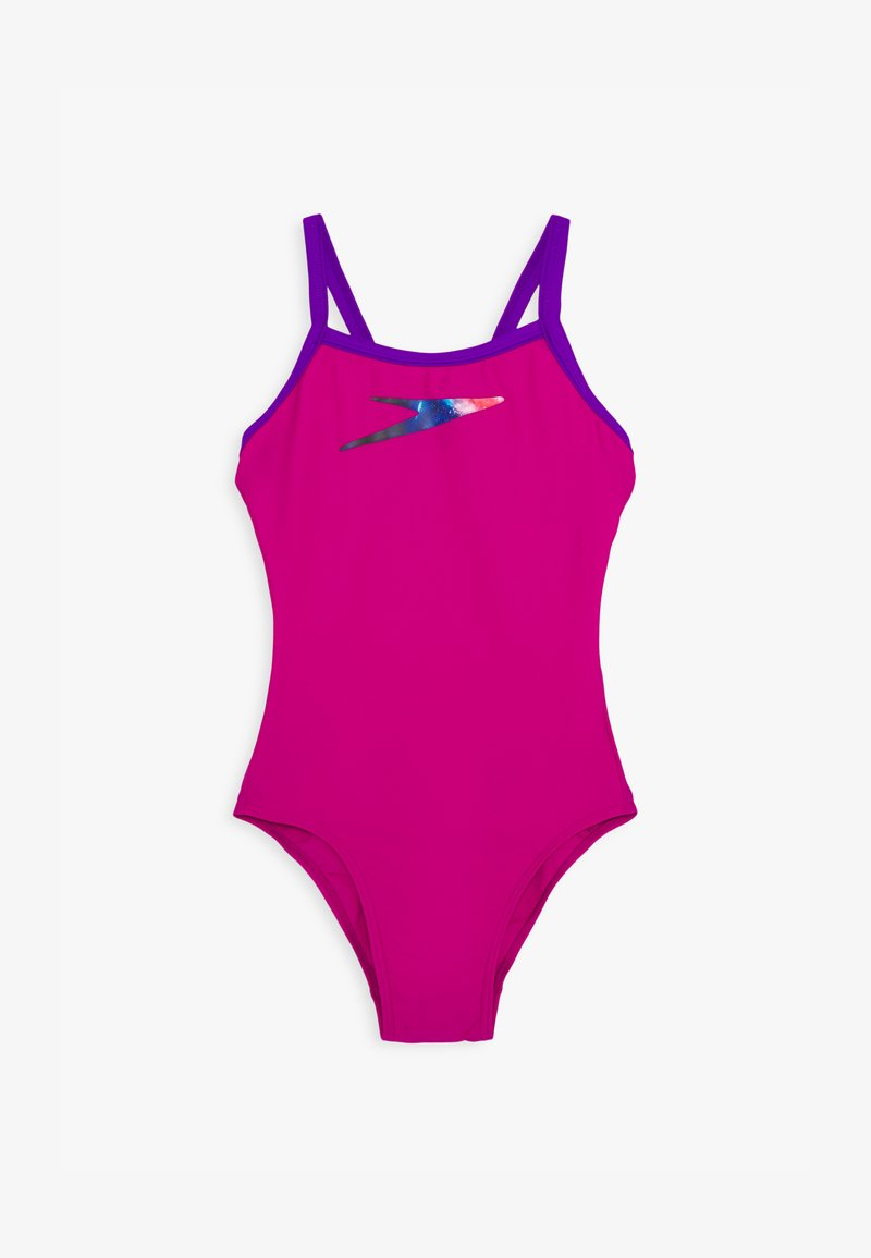 Speedo - BOOM PLACEMENT THINSTRAP MUSCLEBACK - Swimsuit - diva/violet