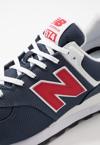 New Balance - Sneakersy niskie - grey/red - 5