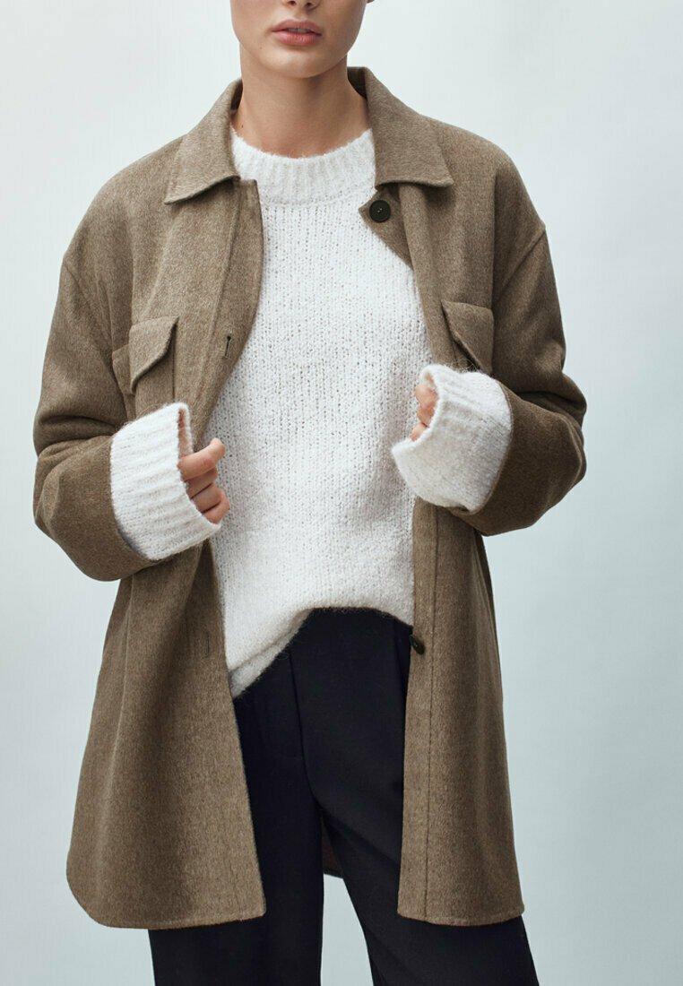 Massimo Dutti - Short coat - brown