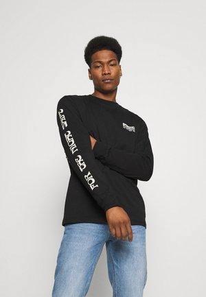 WILLERNIE TEE - Pitkähihainen paita - black