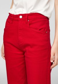 s.Oliver - Trousers - true red - 4