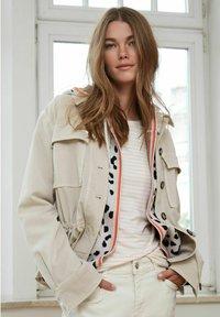 Oui - Summer jacket - light stone - 4