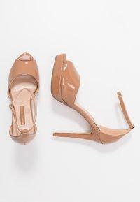 Dorothy Perkins - SORBET PLATFORM - Sandaler med høye hæler - nude - 3