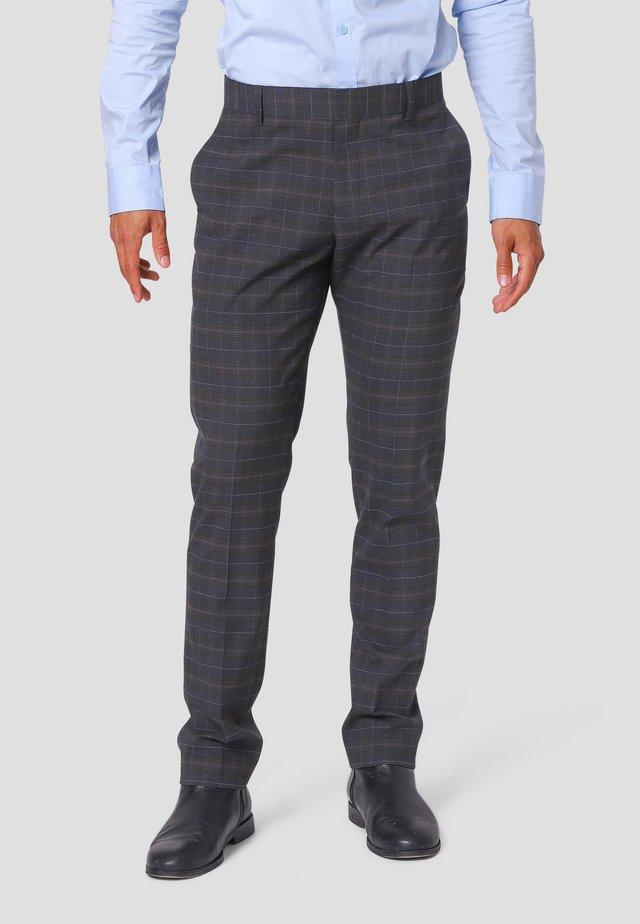 Suit trousers - dk.navy