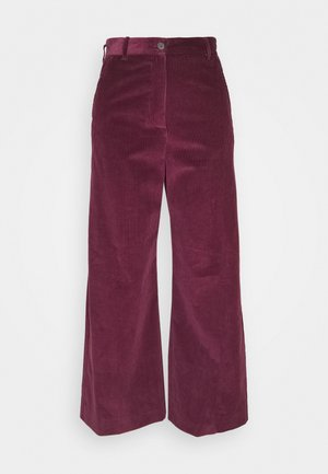 TOBIA - Trousers - pflaume