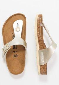 Birkenstock - GIZEH - Sandály s odděleným palcem - electric metallic copper - 0