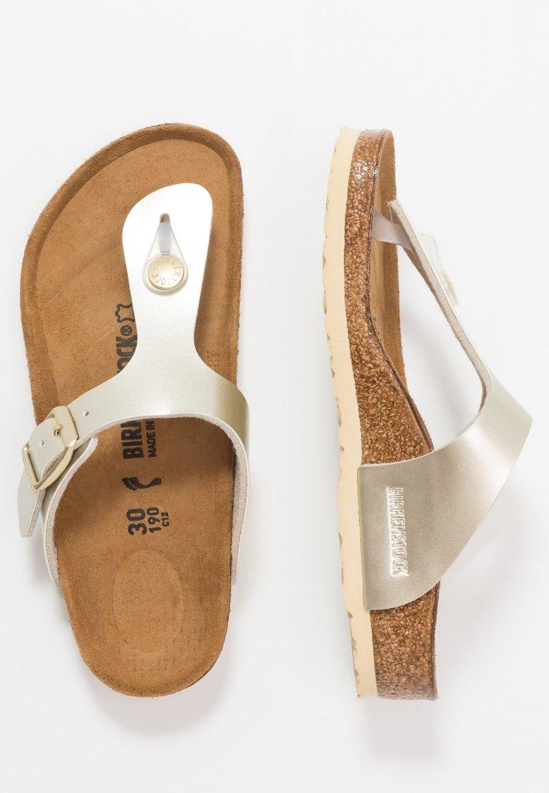 Birkenstock - GIZEH - Sandály s odděleným palcem - electric metallic copper