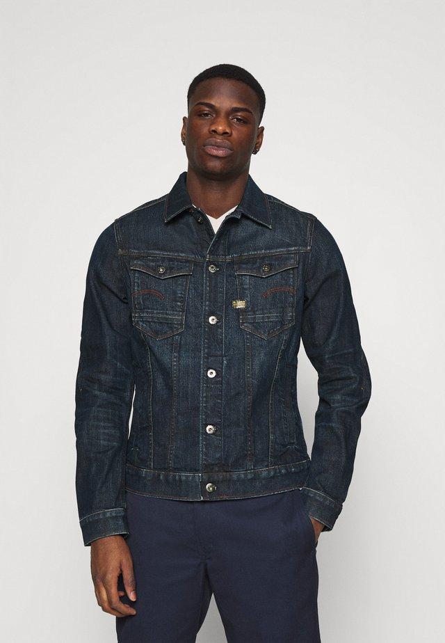 SLIM  - Denim jacket - dark blue