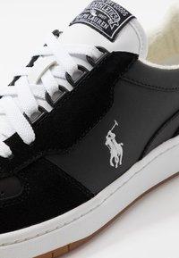 Polo Ralph Lauren - Trainers - black/white - 5