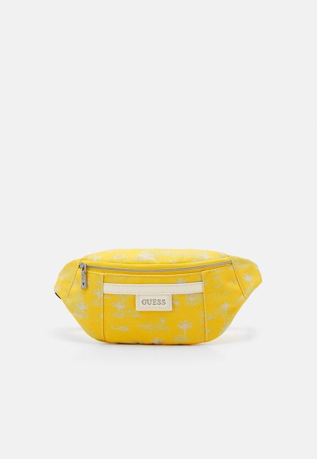 QUARTO BUMBAG UNISEX - Ledvinka - yellow
