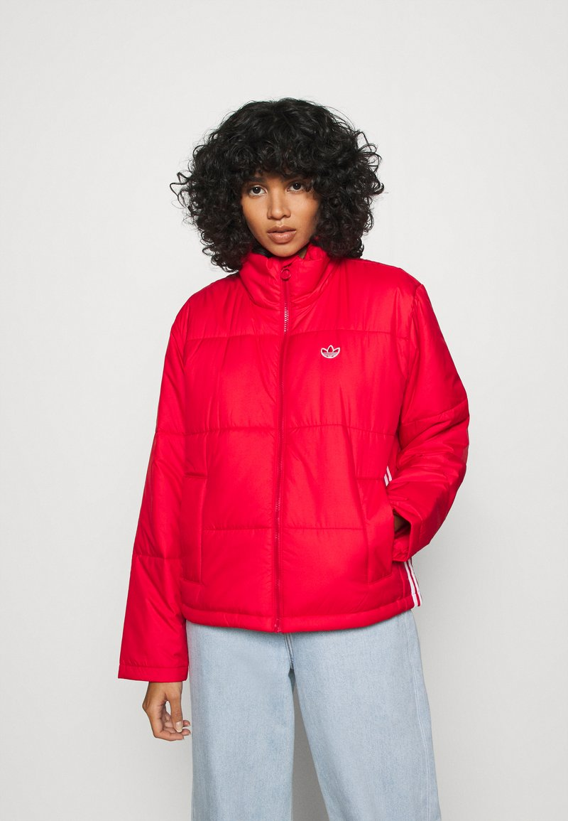 adidas Originals - PUFFER WINTER MIDWEIGHT JACKET - Light jacket - scarlet