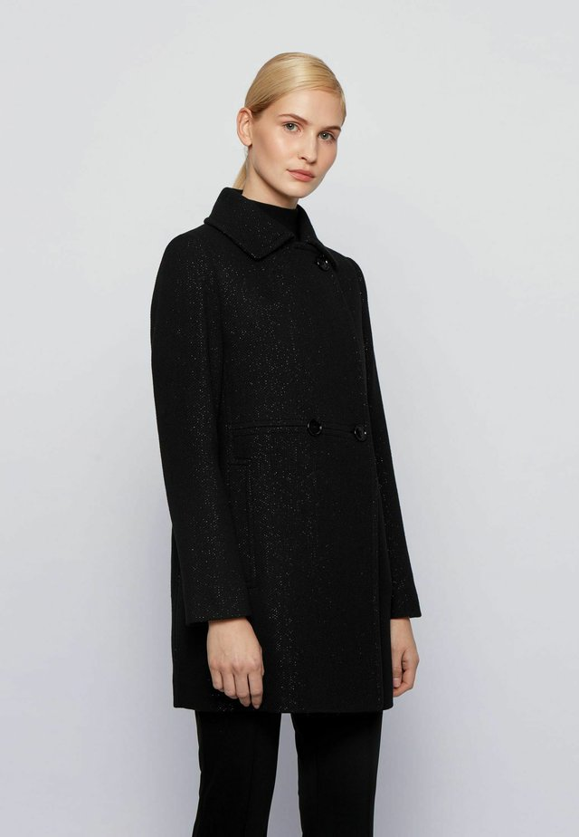 C_COMILA - Short coat - black