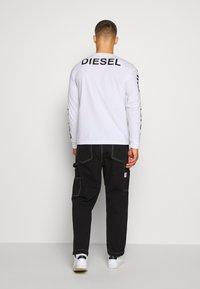Diesel - Long sleeved top - white - 2
