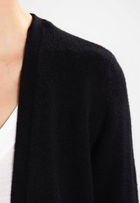 Vila - VIRIL LONG CARDIGAN - Cardigan - black - 3