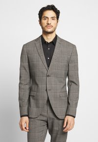 Isaac Dewhirst - CHECK SUIT - Costume - light brown - 2