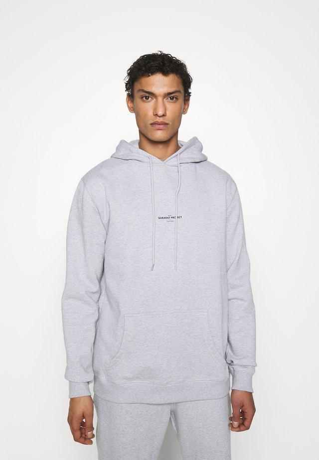 HOOTED - Hoodie - grey melange
