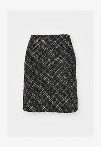 BYERICA SKIRT - Mini skirt - black