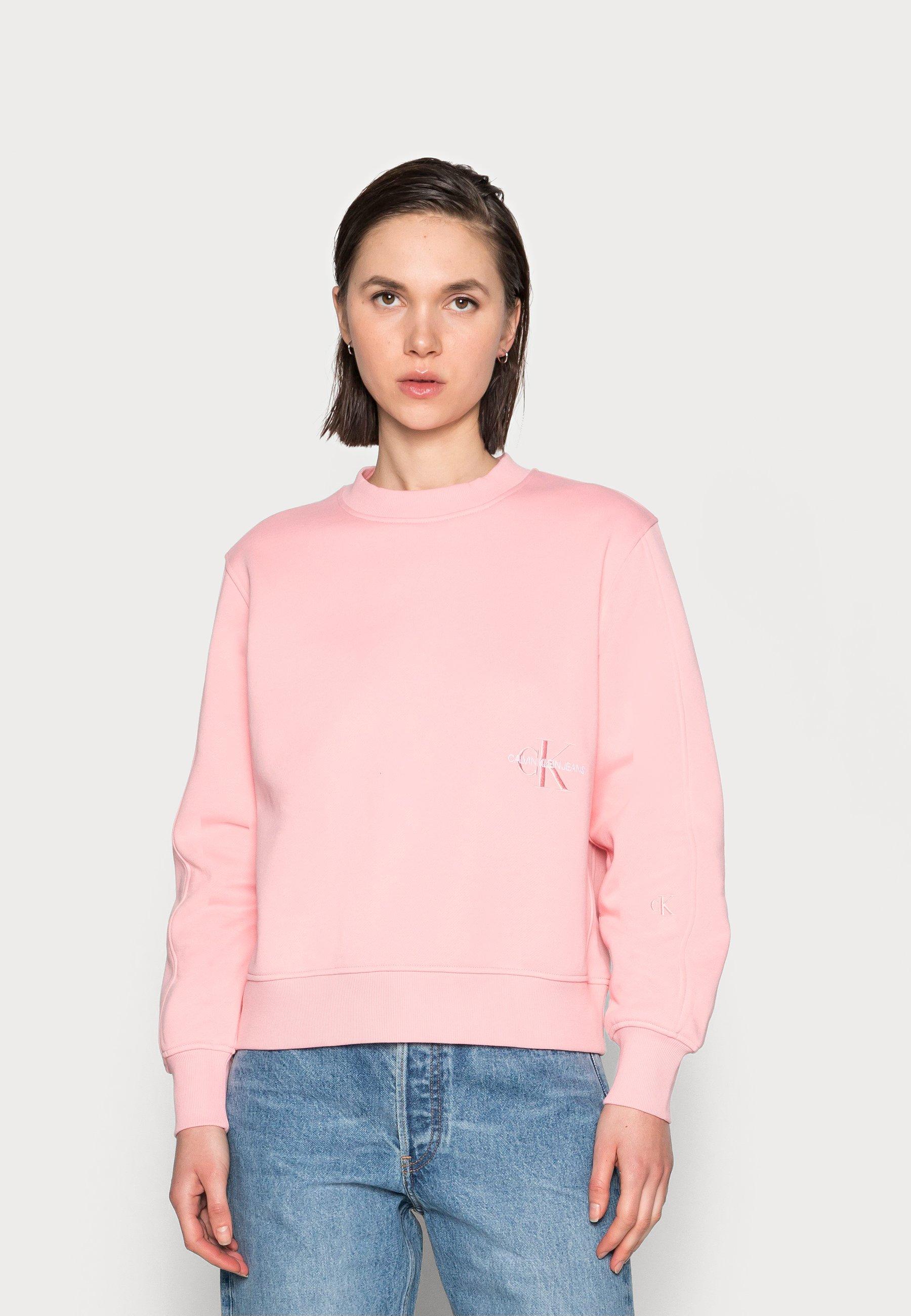 Women OFF PLACED MONOGRAM CREW NECK - Sweatshirt